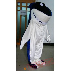 Adult Blue Shark Mascot Costume