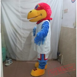 Adult Blue Parrot Mascot Costume
