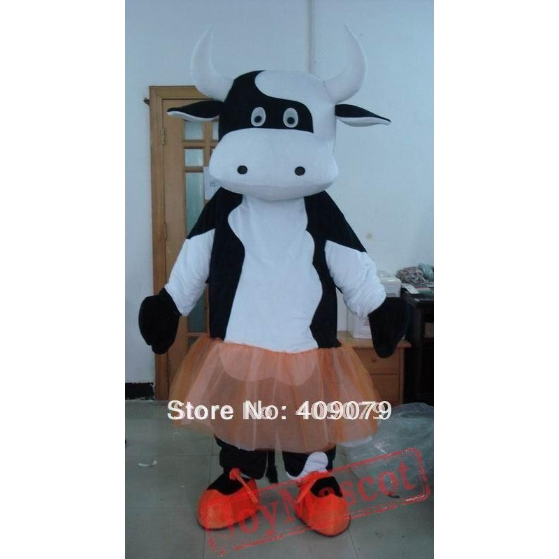 sc 1 st  Mascot Shop & Milk Cow In Ballet Mascot Costume For Adult