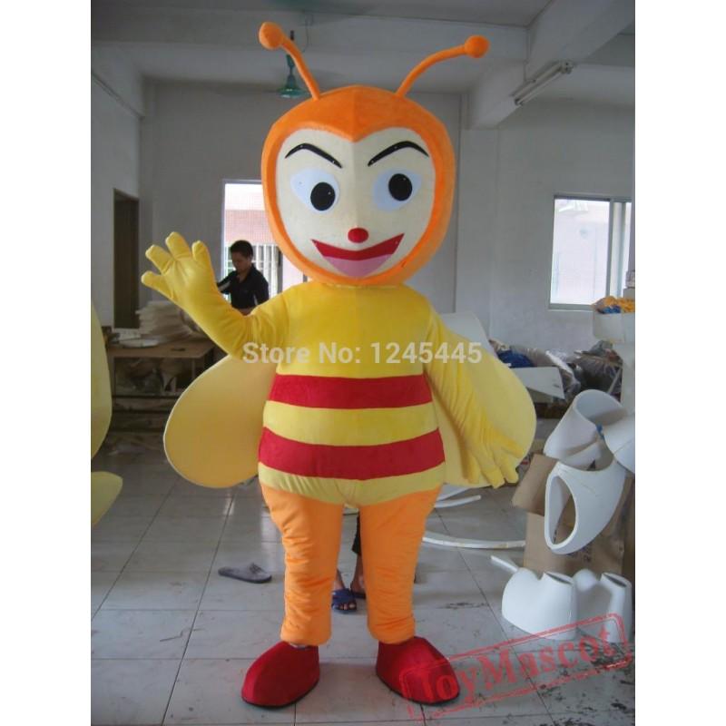 sc 1 st  Mascot Costumes & Plush Material Abult Bee Mascot Costume