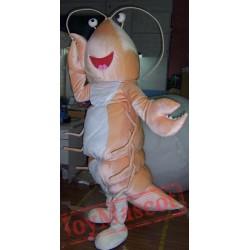 Adult Prawn Mascot Costume