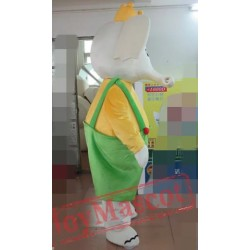 Adult Elephant King Mascot Costume