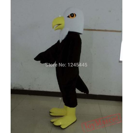 Blue / Black Eagle Mascot Costume For Adult