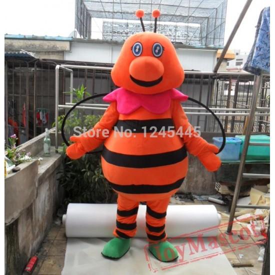 Hornet Mascot Costume For Adult