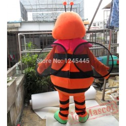 Hornet Mascot Costume For Adult