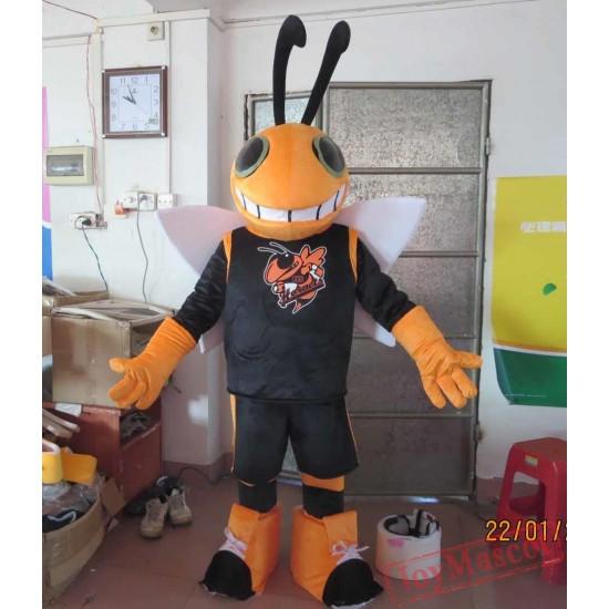 Hornet Bee Mascot Costume For Adult