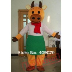 Chef Cow Mascot Costume For Adult