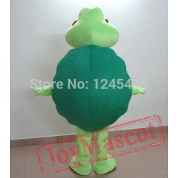 Adult Green Sea Turtle Mascot Costume