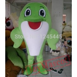 Good Adult Dolphin Mascot Costume