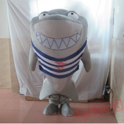 Big Grey Shark Mascot Costume Whale Mascot Costume For Adults
