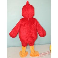 Animal Red Chicken Mascot Costume