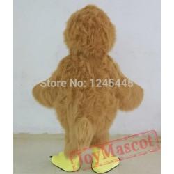 Brown Chicken Mascot Costume Adult Chicken Costume