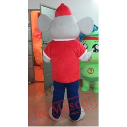Sports Style Mouse Mascot Costume Adult Mouse Mascot