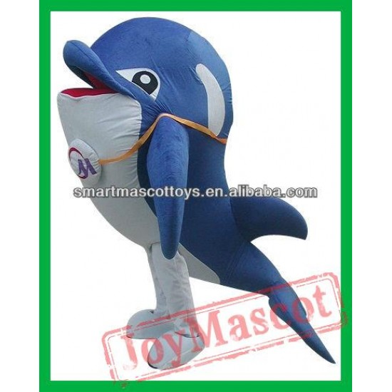 Adult Dolphin Mascot Costume Dolphin Costume