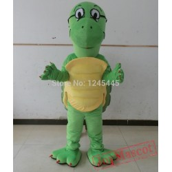Green Sea Animal Costume Adult Sea Turtle Mascot Costume
