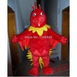 Adult Phoenix Mascot Costume Phoenix Costume
