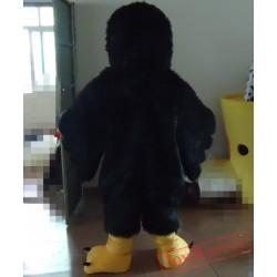 Black Bird Mascot Costume For Adults Bird Costume
