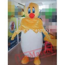 Little Chicken Mascot Costume Adult Chicken Mascot