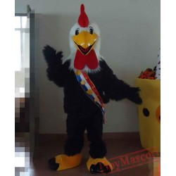 Ebullient Cock Mascot Costume For Adults Chicken Mascot Cock Mascot