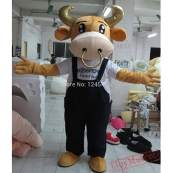 Cow Animal Mascot Cow Costume New Adult Cow Mascot Costume For Adult