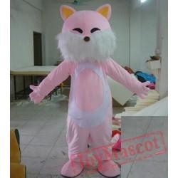 Pink Cat Mascot Costume Cat Woman Costume