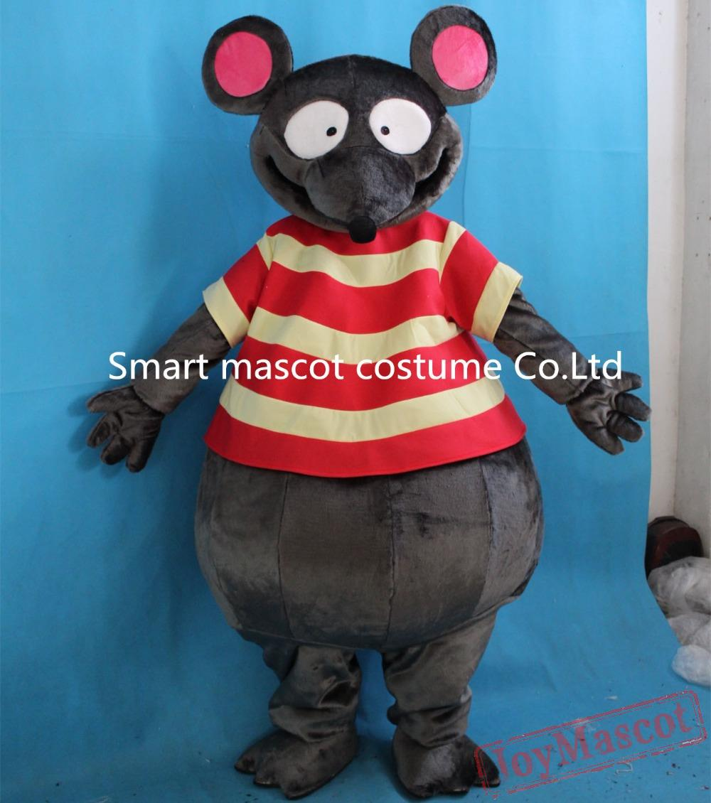 Animal Rat Mascot Adult Costume