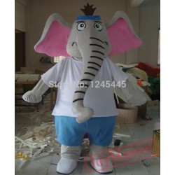 Cute Elephant Mascot Costume Adult Elephant Costume