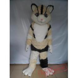 Smart Cat Mascot Costume Adult Cat Costume