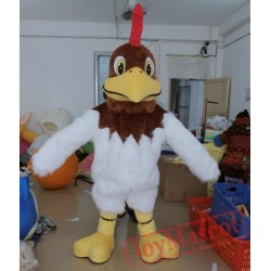 Adult Rooster Mascot Costume Cock Mascot Costume