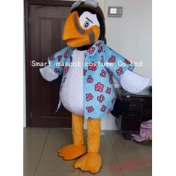 Flower Shirt Bird Mascot Costume Adult Bird Costume