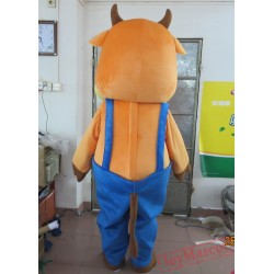 Hamsome Cow Mascot Costume Cow Adult Cow Costume