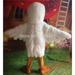 Adult Seagull Costume Seagull Mascot Seagull Mascot Costume