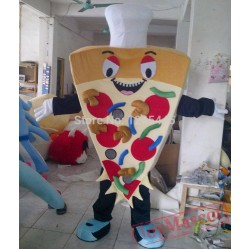 Delicous Food Costume Pizza Mascot Costume For Adult