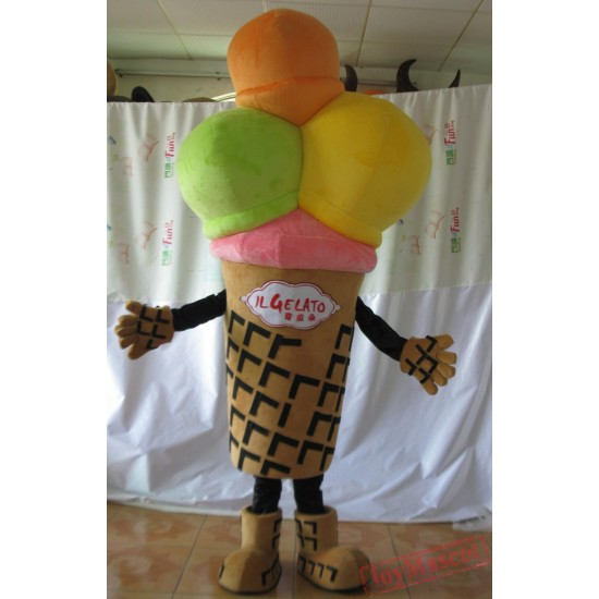 Adult Ice Cream Mascot Costume/ Ice Cream Costumes