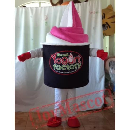 Frozen Yogurt Masct Costume For Adult