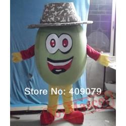 Adult Kiwi Fruit Mascot Costume