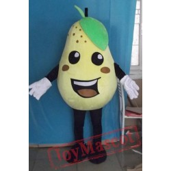 Pear Mascot Costume For Adult