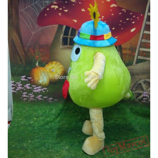 Funny Fruit Costme Hand Made Adult Pear Mascot Costume