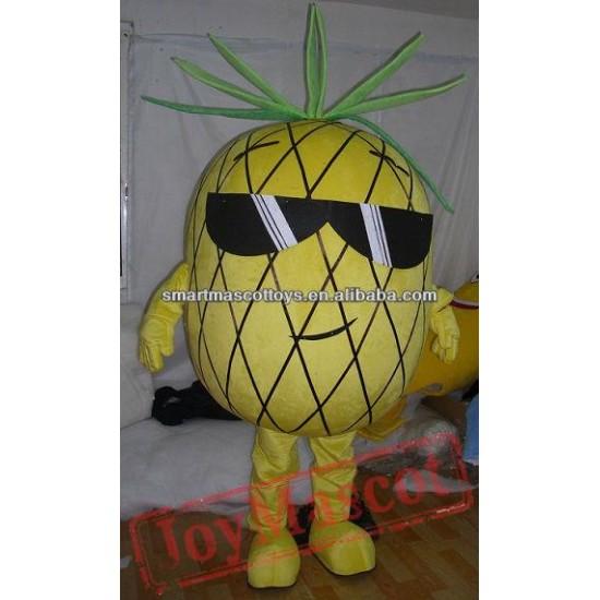 Adult Pineapple Mascot Costume
