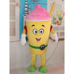 Good Version New Ice Cream Adult Yogurt Mascot Costume