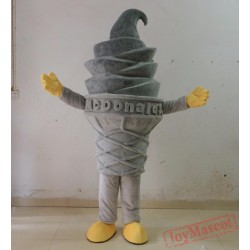 Adult Ice Cream Mascot Costume
