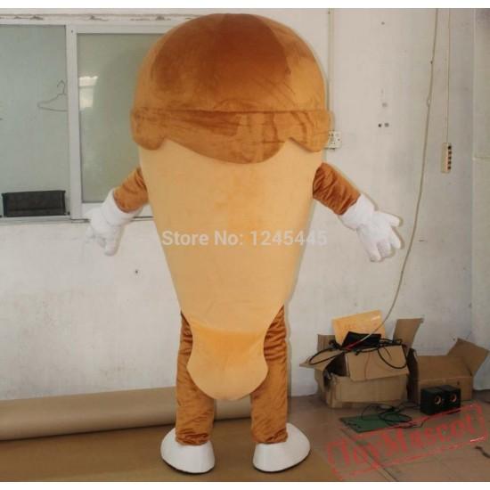 Ice Cream Mascot Costume For Adult