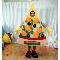 Pizza Mascot Costume For Adults