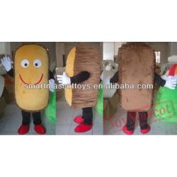 Adult Bread Cake Mascot Costume