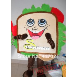 Adult Plush Sandwich Mascot Costume