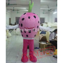 Adult Strawberry Mascot Costume