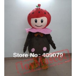 Strawberry & Chocolate Mascot Costume For Adults