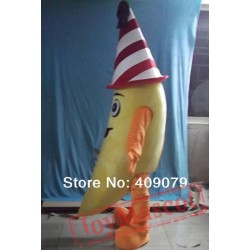 Adult Banana Mascot Costume