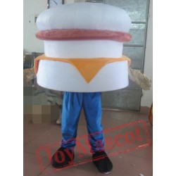 Adult Hamburger Mascot Costume