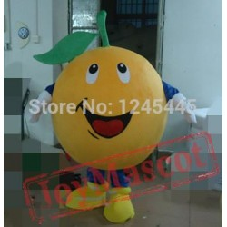 Adult Orange Mascot Costume